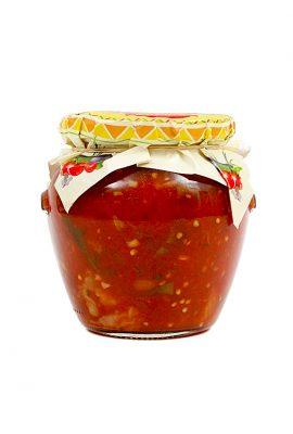 Zucchini Sautee in Tomato Sauce