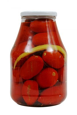 Marinated Red Tomatoes